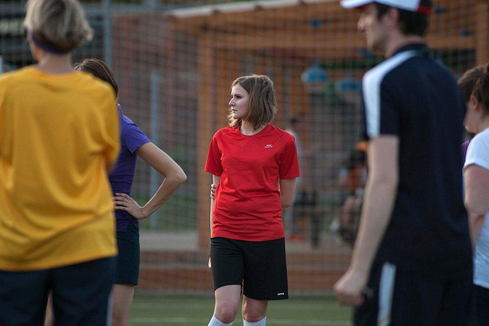Футболистки в Таганском парке. Изображение № 9.