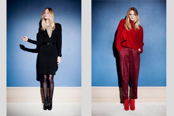 Красный свитер, 10 200 р., брюки 10 600 р., платье, 15 700 р., все — Rodebjer. Цены указаны без учета скидки.. Изображение № 23.