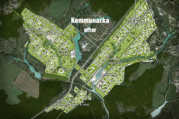 Представлены доработанные проекты развития Московской агломерации. Изображение № 9.