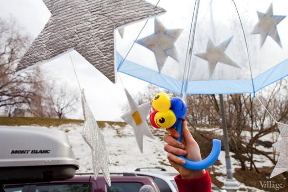 В Москве прошло арт-шествие в честь Дня космонавтики. Изображение № 7.