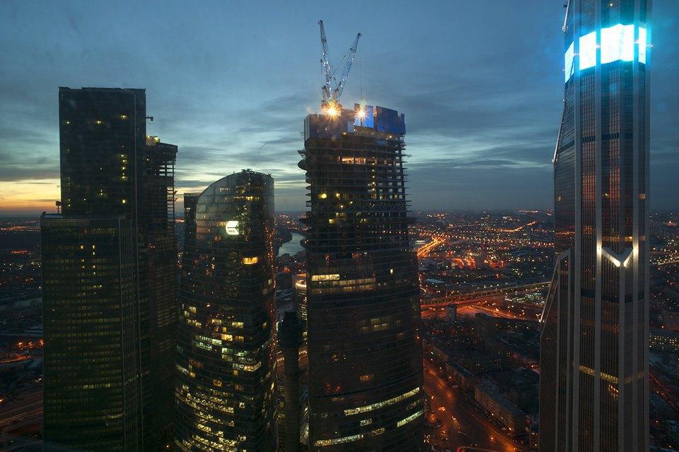 Смотровая площадка в«Москва-Сити». Изображение № 14.