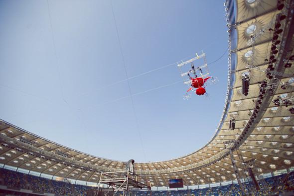 Выходит на арену: Как реконструировали стадион «Олимпийский». Изображение № 5.