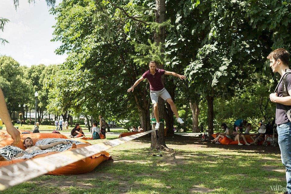 Люди в городе: Играющие в парках. Изображение № 4.