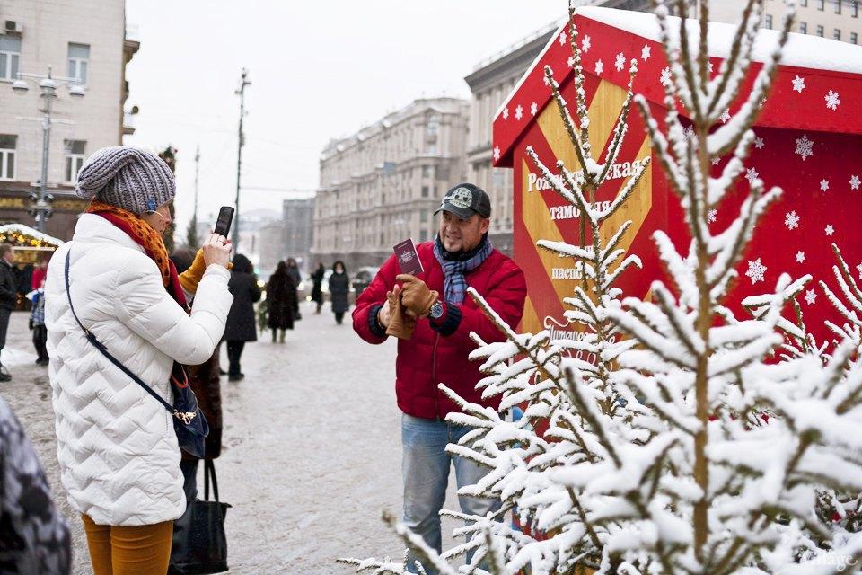 Фоторепортаж: Новогодние ярмарки в центре Москвы. Изображение № 3.