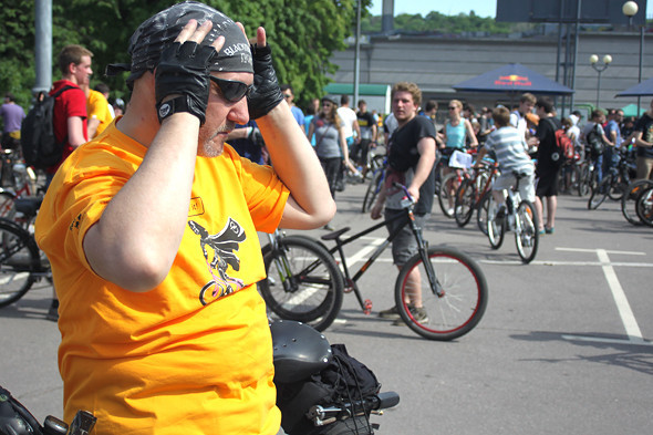 Велопарад Let's bike it!: Чего не хватает велосипедистам в городе. Изображение № 16.