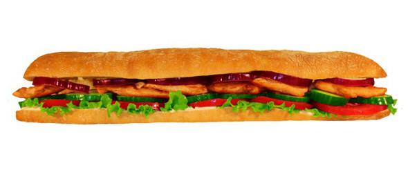 Сэндвич с куриной грудкой в «Нямс». Изображение № 3.