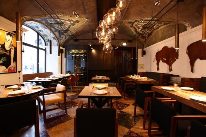 Аркадий Новиков открыл мясной ресторан «Рыбы нет». Изображение № 1.