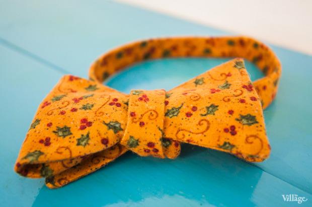 Шерстяной галстук-бабочка Pepe Crew — 1 800 рублей. Изображение № 11.