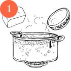 Рецепты шефов: Чизкейк из адыгейского сыра «Свой мини-огород». Изображение № 3.