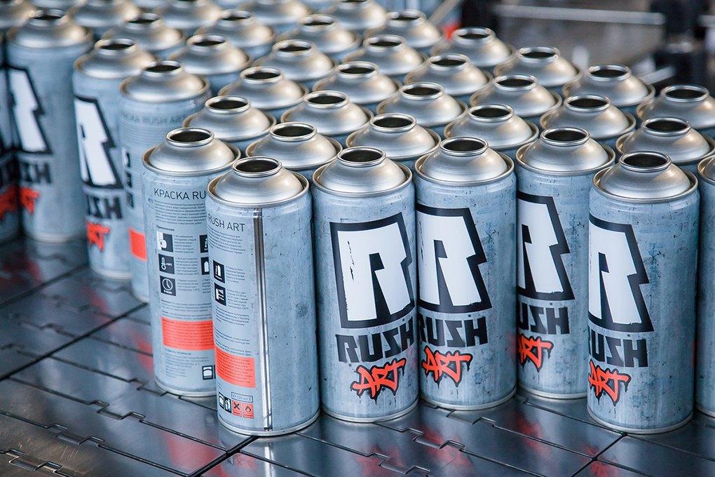 Rush: Производитель краски для граффити, потеснивший западныебренды. Изображение № 6.
