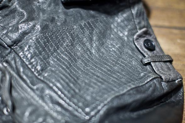 Анатомия куртки: Как сделана кожаная куртка AllSaints. Изображение № 16.