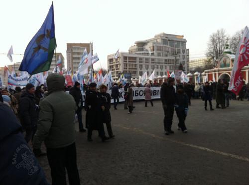 Онлайн-трансляция: Шествие и митинг «За честные выборы». Изображение № 83.