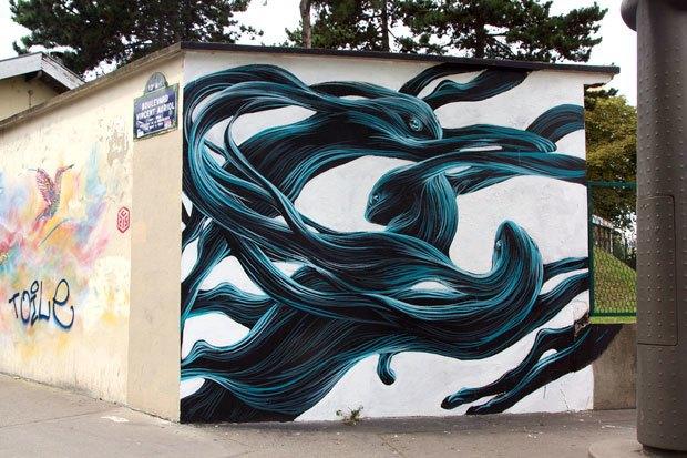 Граффити, изменившие улицы Колумбии, Франции, Турции иВенгрии. Изображение № 5.