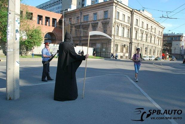 Волонтёры составляют карту опасных пешеходных переходов. Изображение № 2.