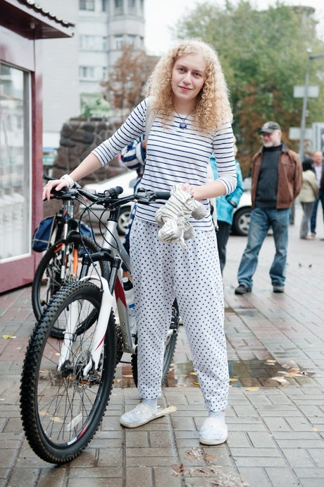 Люди в городе: участники велопарада впижамах. Изображение № 12.