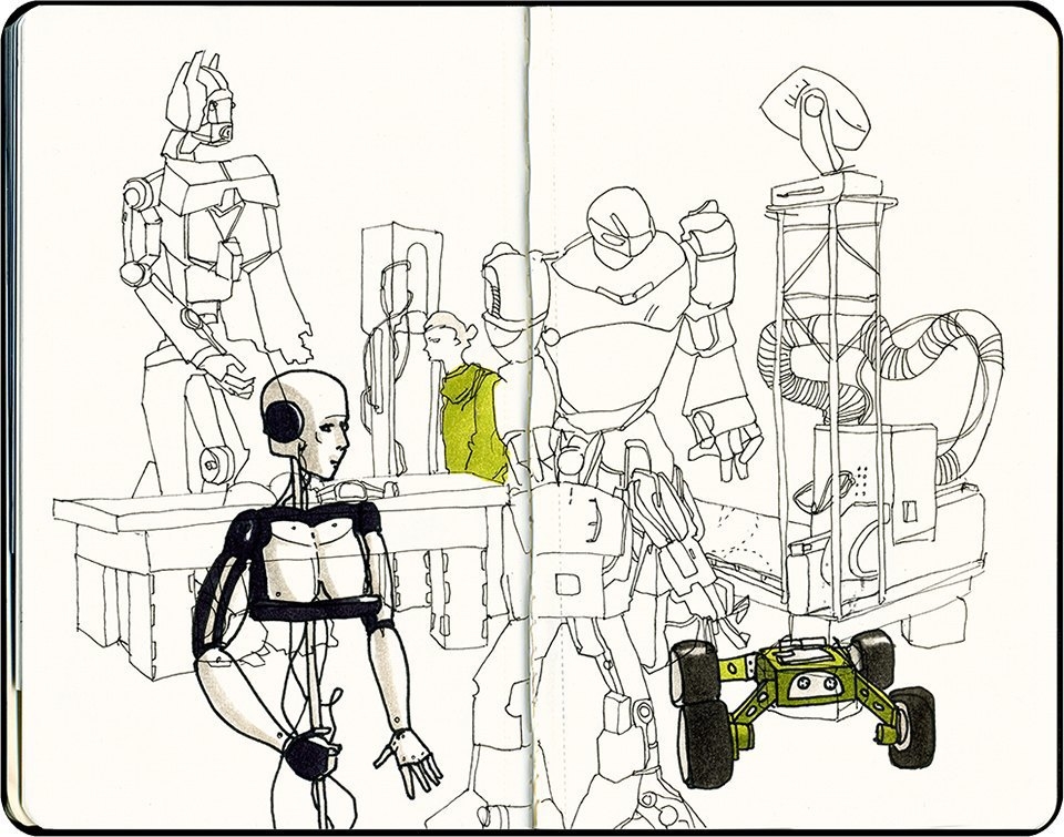 Клуб рисовальщиков: Geek Picnic. Изображение № 6.