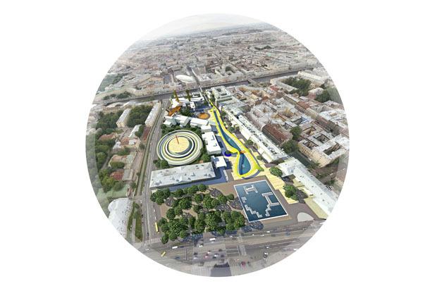 10 проектов квартала около Витебского вокзала . Изображение № 27.