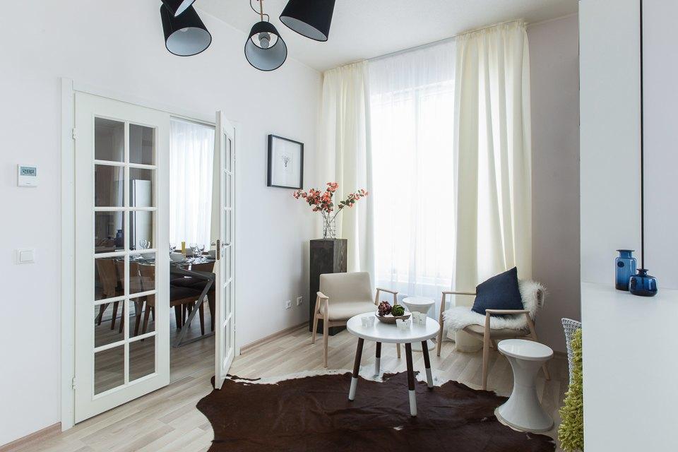 Светлые апартаменты виндустриальном районе . Изображение № 3.