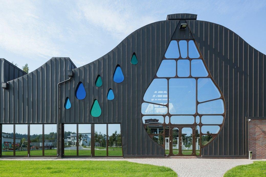 Как выглядит арт-объект Waves— первый дом попроекту Гаэтано Пеше вРоссии. Изображение № 3.