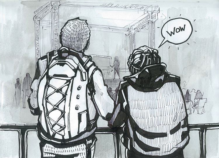 Клуб рисовальщиков: Geek Picnic. Изображение № 12.