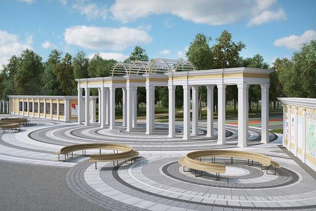 Новый центральный вход парка «Сокольники». Изображение № 3.