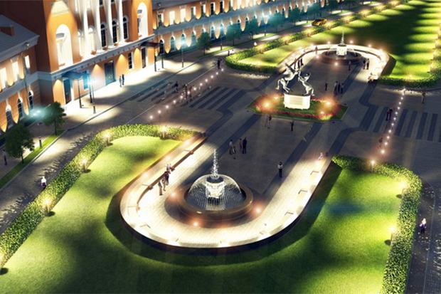Проект развития района вокруг Конюшенной площади. Изображение №2.