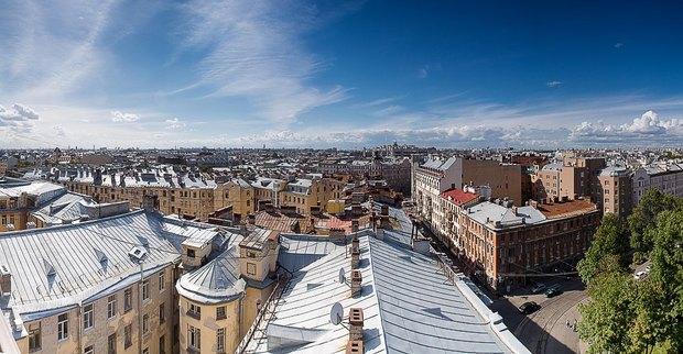 Накрыше комплекса «Толстой сквер» открылся панорамный ресторан . Изображение № 3.