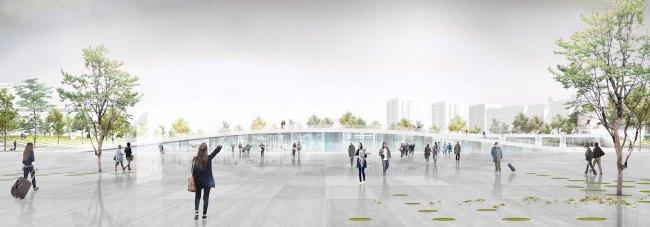 На Павелецкой площади появятся подземный центр итерминал «Аэроэкспресса». Изображение № 3.
