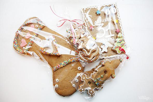 Сладкий Санта: Имбирные человечки и другие новогодние десерты навынос. Изображение № 9.