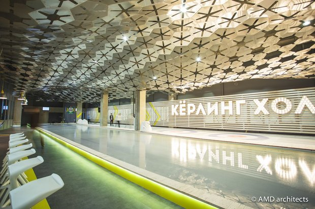 НаБухарестской открылся кёрлинг-центр с баром. Изображение № 4.