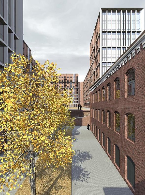 На набережной Яузы построят многофункциональный жилой комплекс. Изображение № 5.