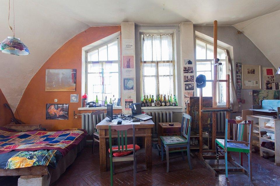 Квартира имастерская вбашне наКаменноостровском. Изображение № 17.