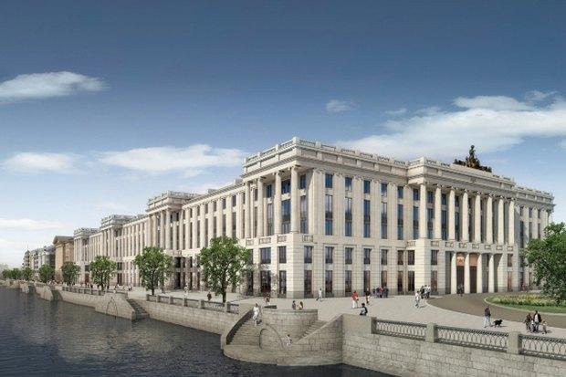 Архитектурный критик Мария Элькина—обудущем судебного квартала вПетербурге. Изображение № 2.