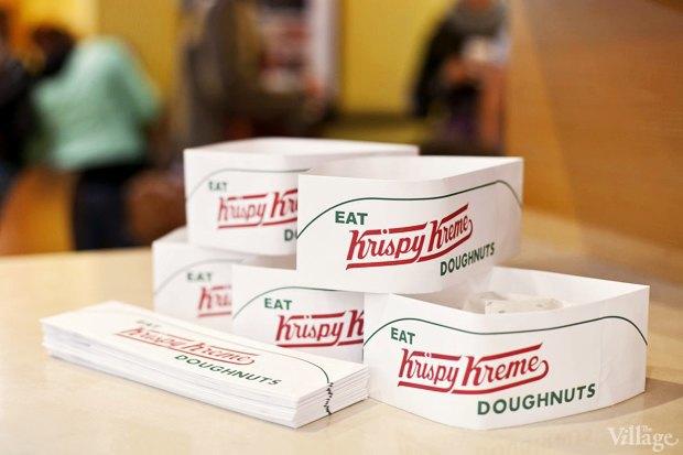 Саша Боярская опончиковой Krispy Kreme. Изображение № 8.