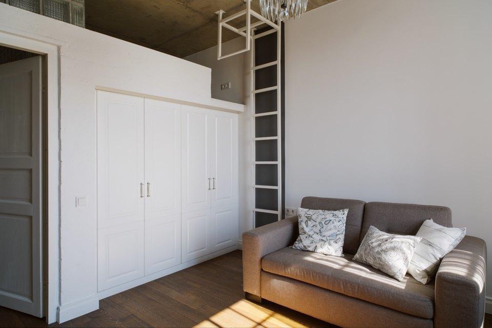Трёхкомнатная квартира виндустриальном стиле. Изображение № 5.