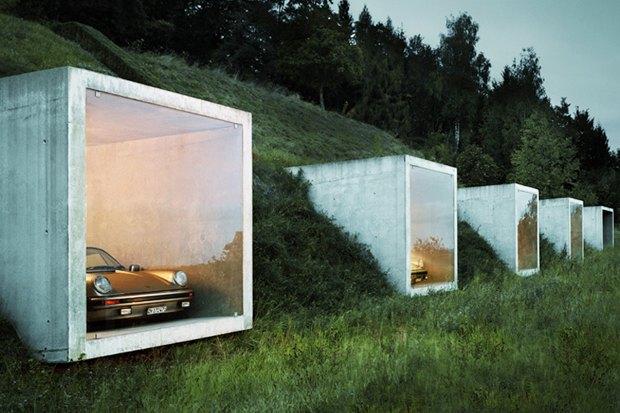 В Москве хотят построить обвалованные гаражи. Изображение № 5.