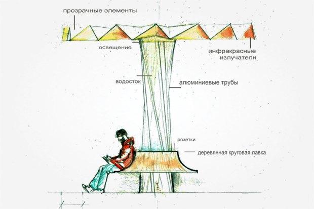 Чего хочет Москва: 6городских лавочек. Изображение № 29.