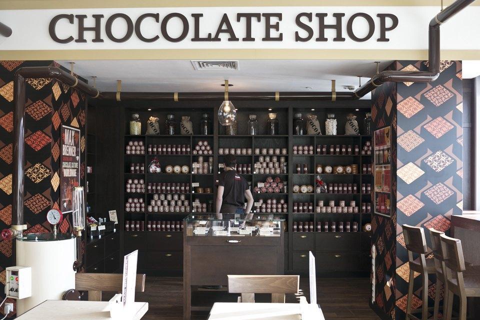Шоколадный бар MaxBrenner. Изображение № 7.