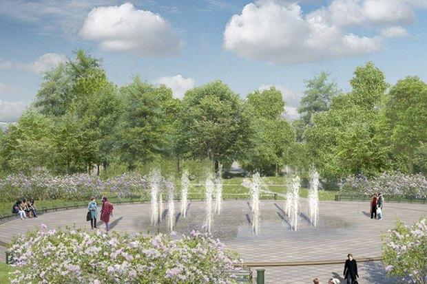LDA Design представили проекты благоустройства парка «Садовники» и Сиреневого сада. Изображение № 6.