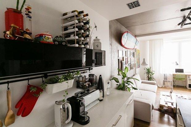 Как обустроить однокомнатную квартиру. Изображение № 3.