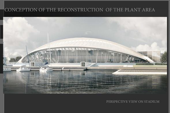 План по созданию многофункционального спортивного комплекса на территории завода «Алмаз». Изображение № 7.