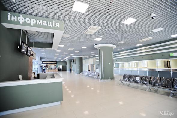 Фоторепортаж: Новый терминал аэропорта Киев — за день до открытия. Зображення № 17.