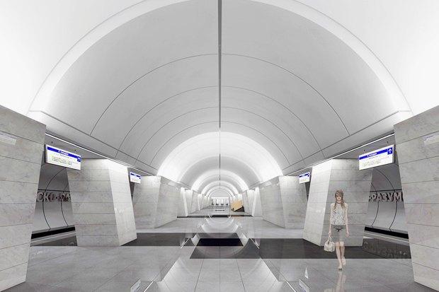 Метро-2015: Как будут выглядеть 8новых станций . Изображение № 8.