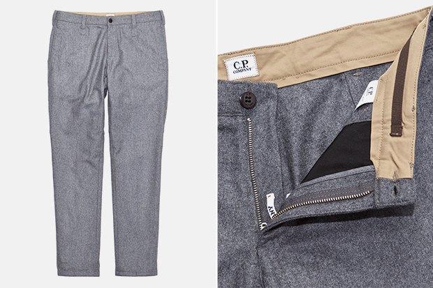 7 пар светлых мужских брюк. Изображение № 6.