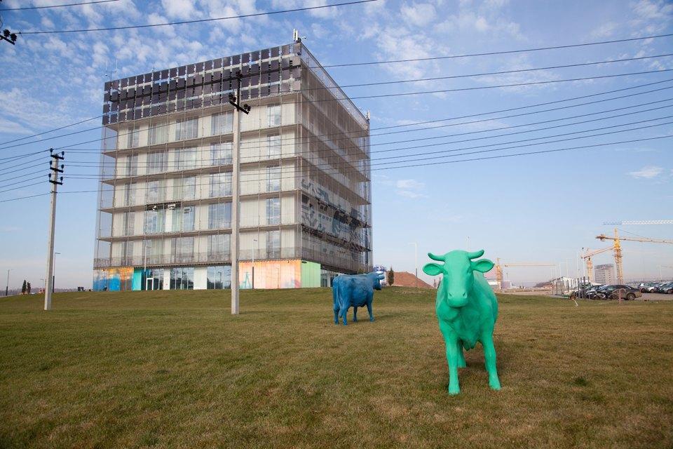 «Гиперкуб», первое здание инновационного центра «Сколково». Изображение № 1.