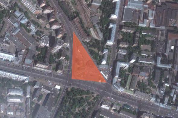 Площадь Краснопресненской заставы — «Наши». Изображение № 7.