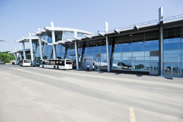Фоторепортаж: Новый терминал аэропорта Киев — за день до открытия. Зображення № 29.