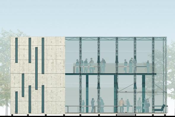 Молодые архитекторы предложили проект прозрачного полицейского участка. Изображение № 8.