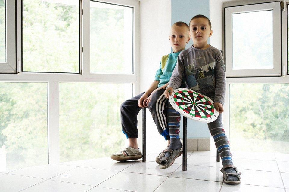 Украинские беженцы  в общежитии вПечатниках. Изображение № 8.
