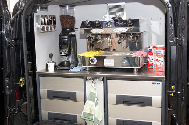 В центре города появятся кофемобили. Изображение № 4.